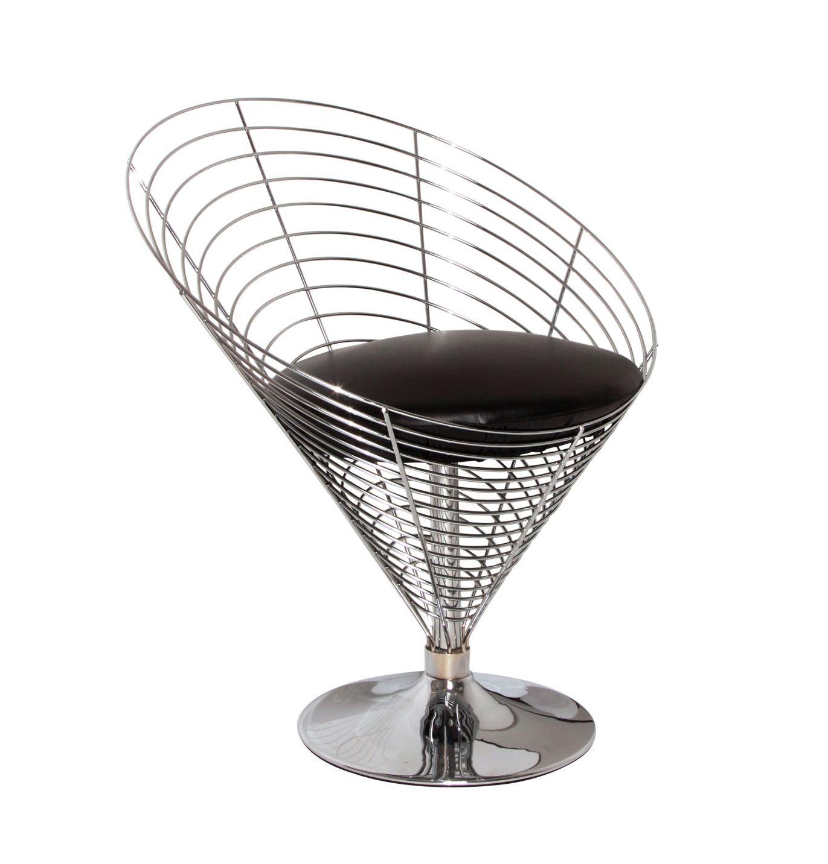 replica verner panton wire cone chair by vernon panton matt blatt furniture pinterest. Black Bedroom Furniture Sets. Home Design Ideas