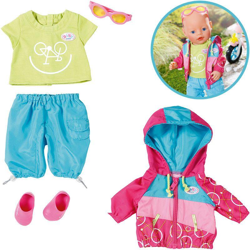 Zapf Creation Baby Born Play Amp Fun Fahrrad Outfit In Spielzeug Puppen Amp Zubehor Babypuppen Amp Zubehor Eb Zapf Creation Baby Geboren Puppenkleidung
