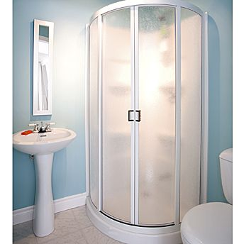 Install a prefabricated shower stalls | Shower doors and Doors