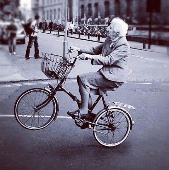 One Day I Ll Pop A Granny Wheelie Bicycle I Want To Ride