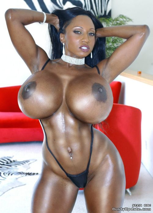 Black Girl Fake Tits