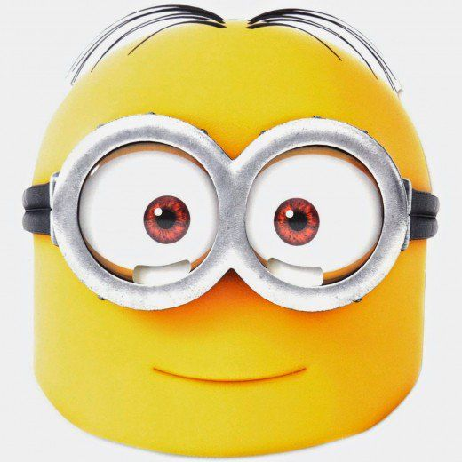 Printable Minion Face Mask DIY and crafts Pinterest Minion - free printable face masks