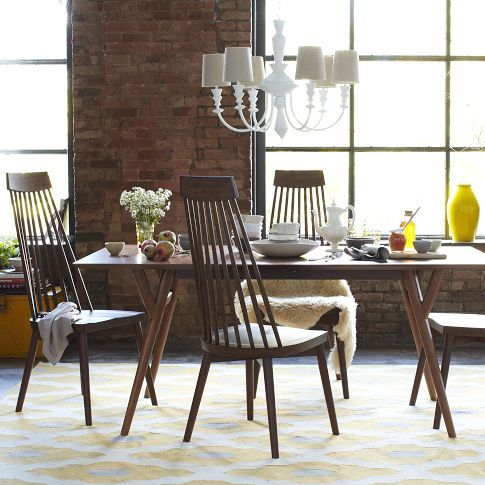 Wondrous West Elm Mid Century Expandable Dining Table Design Caraccident5 Cool Chair Designs And Ideas Caraccident5Info