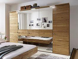 Nice Massiver Kleiderschrank mit Spiegelfront Betten de http betten