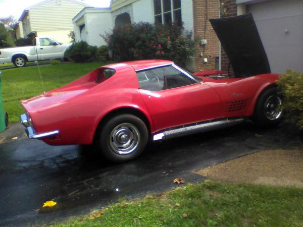 For Sale 1972 Corvette T Top Automatic Tubro400 Red Exterior Saddle Tan Interior Located In Claymont Delawar Chevy Corvette For Sale Corvette Red Corvette
