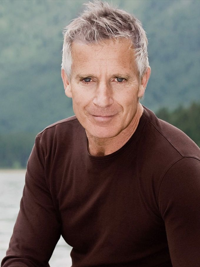 Handsome Gray Haired Man | Grey hair model, Grey hair