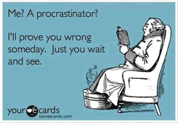 291a17d5d ... cannot even pretend to deny my procrastination. Funny Pictures – 49 Pics