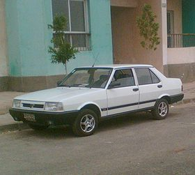 The Turkish Built Murat An Almost Exact Copy Of The Fiat 131 Was