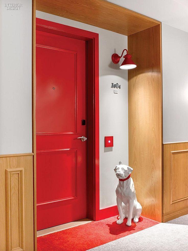 Virgin Terrain Rockwell Group Europe Innovates At Hotels Chicago Red Interior DesignInterior
