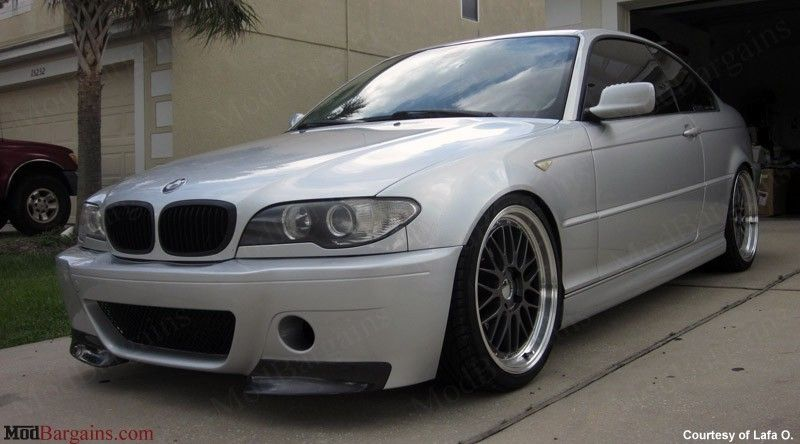 CSL Style V1 Front Bumper w/Grille for 19992006 BMW 3