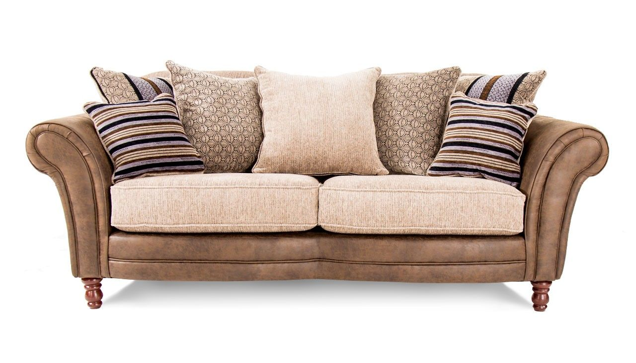 Sofa Slipcovers  Seater Scatter Back Sofa from the Balmoral range AHF Furniture And Carpets