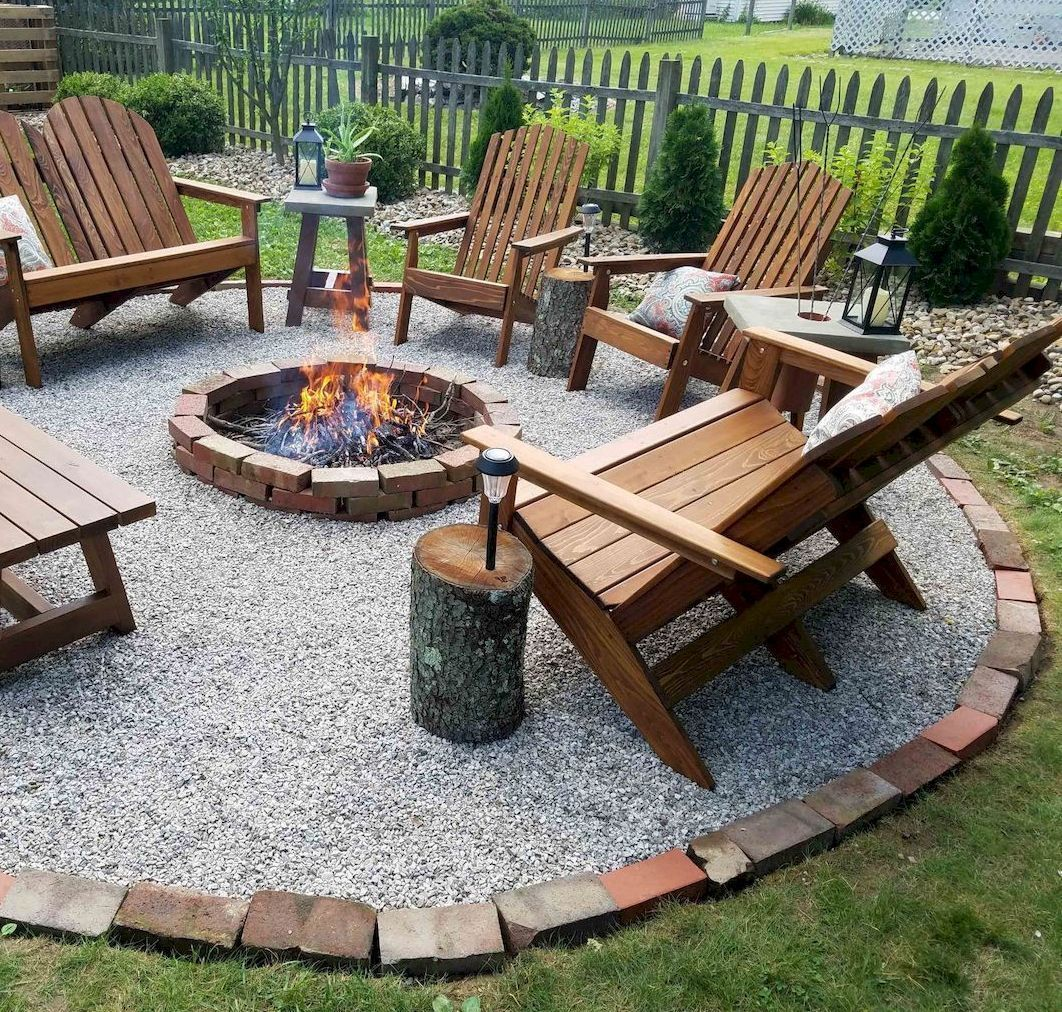 Amazing Outdoor Fire Pit Ideas To Have The Ultimate Backyard Getaway Firepitideas Diyfirepit Fire Pit Landscaping Backyard Patio Designs Backyard Fireplace