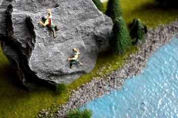 Mini-Figuren für kreatives Basteln, DIYs, Deko und Kunst-Fotografie findest Du bei NOCH kreativ! www.noch-kreativ.de