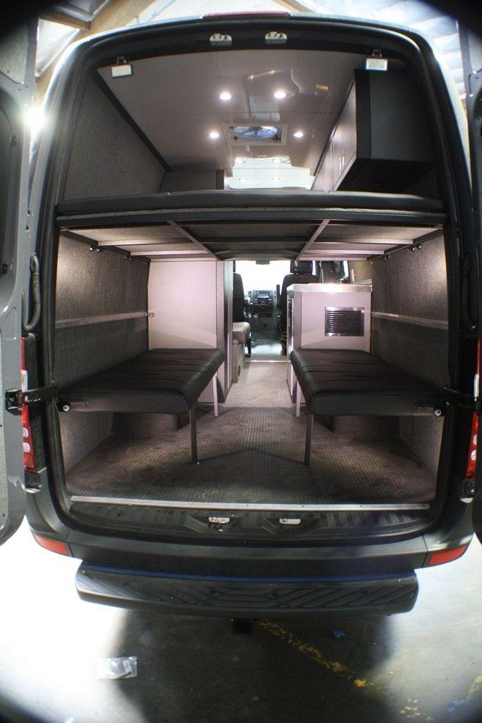 Mercedes Sprinter Passenger Van >> RB Gear Hauler Sawtooth Van 01 - 170 | Sprinter van ...