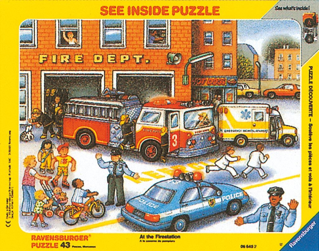 Emergency Vehicles Puzzle To Complement Curriculum And
