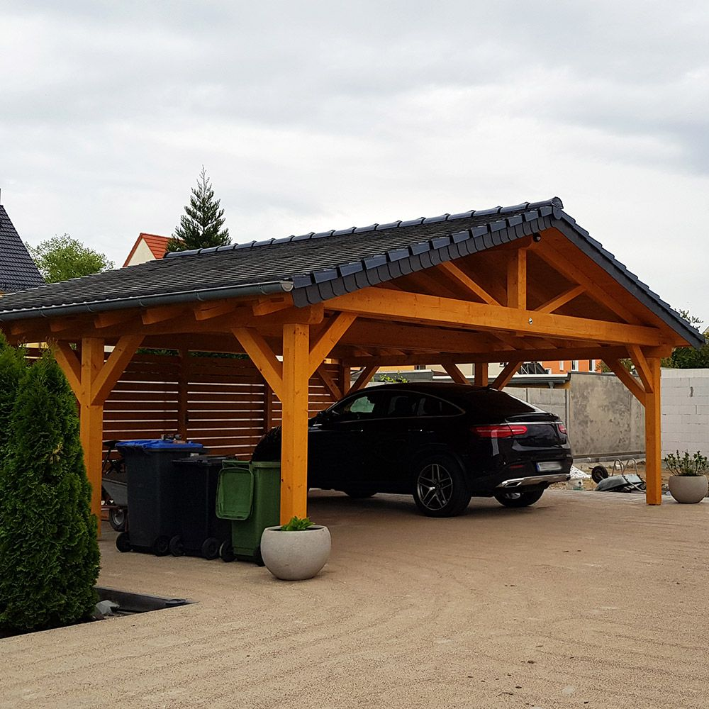 Learn How To Build A Carport And Protect Your Vehicle From The Elements Building A Carport Carport Designs Diy Carport