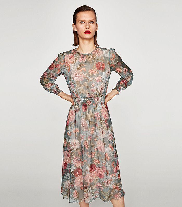 Midi Zara Boho Dress