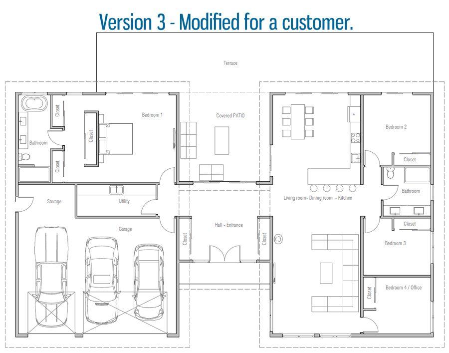 House Design House Plan Ch605 32 Home Design Floor Plans House Plans Dream House Plans