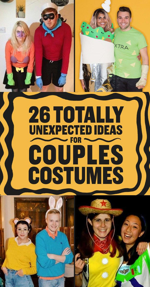 26 Couples Costumes That Won't Make You Barf in 2020