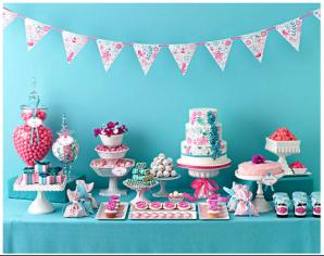 buffet baby shower