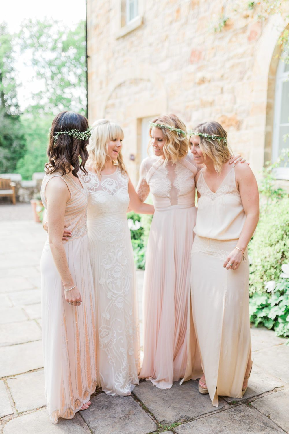 Temperley London Wedding Dress For A Peachy At Brinkburn Northumberland