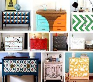 Reciclar Muebles Viejos Es Posible Gracias Al Hecho De Ponerle - Reciclar-muebles-viejos
