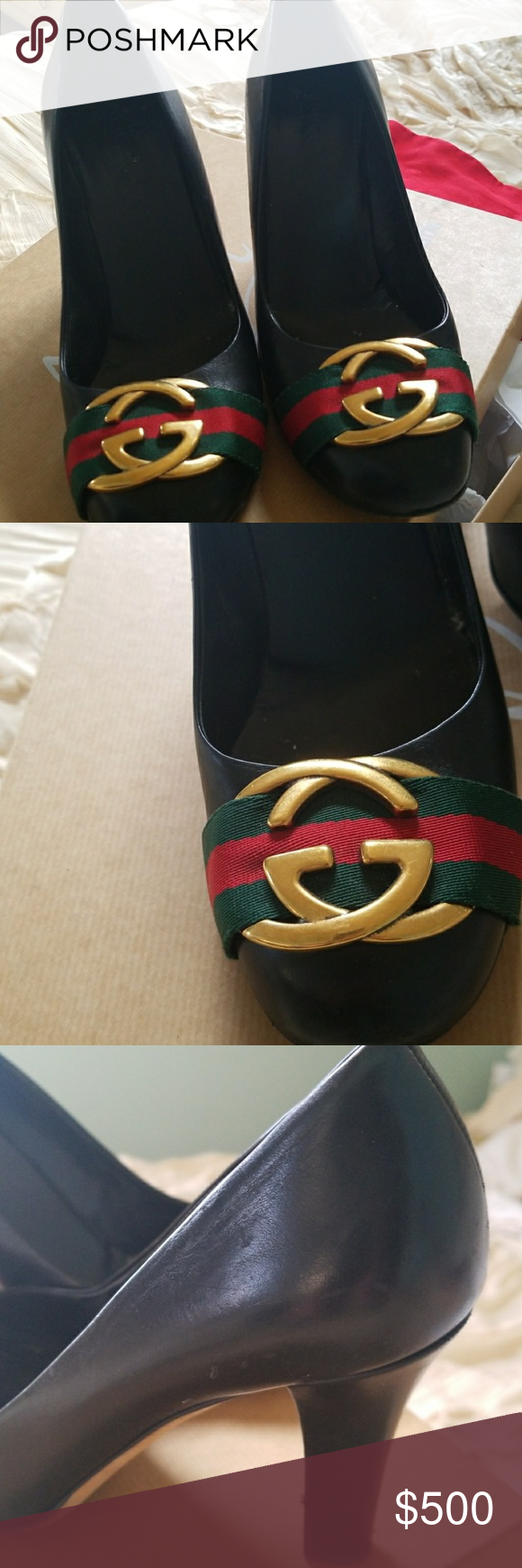 Gucci maryjane pumps