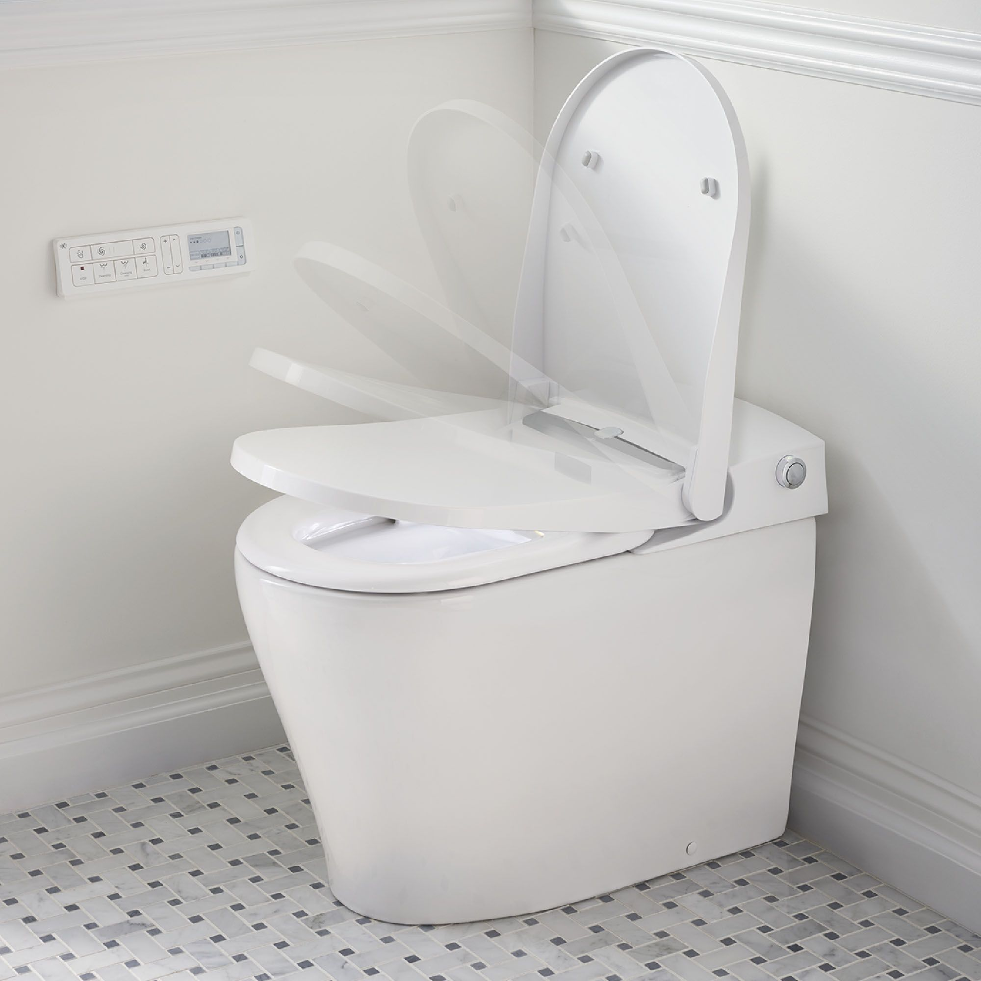 At200 Ls Spalet Bidet Toilet With Automatic Seat With Images