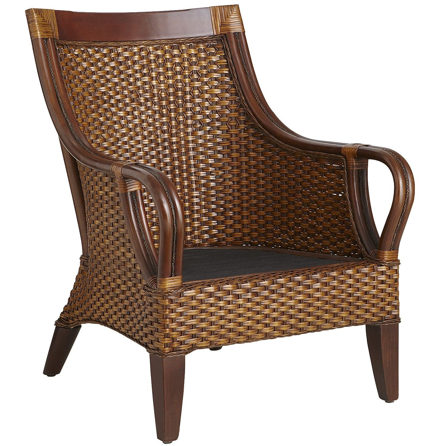 temani brown wicker chair rattan pine and west indies decor