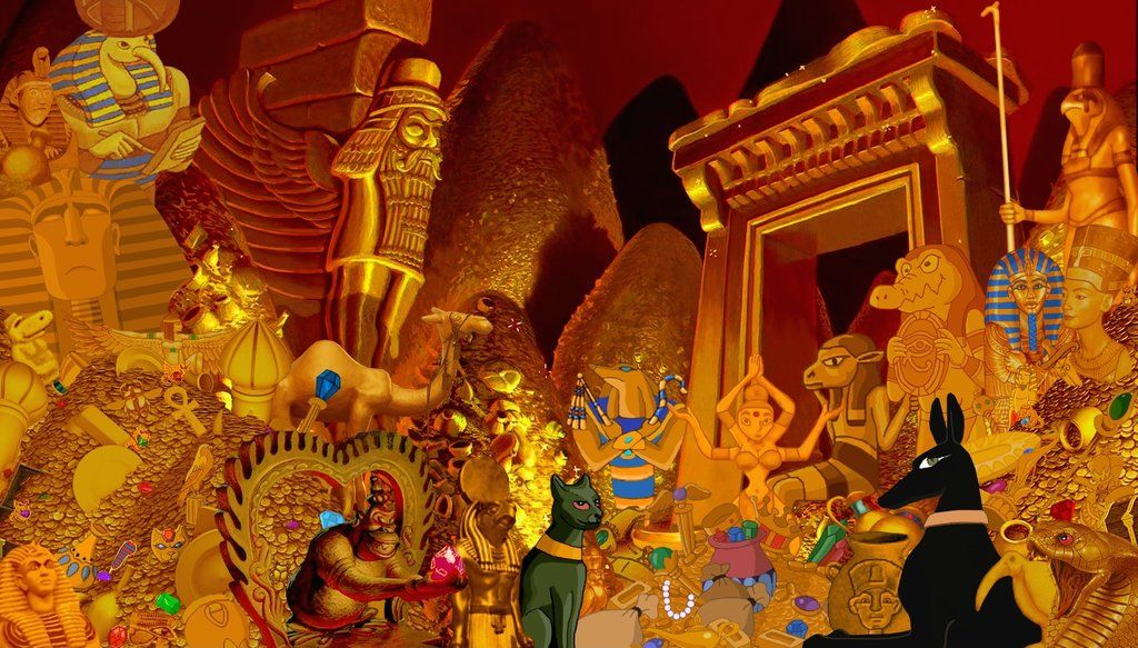 Cave of wonders treasure chamber by nathanhumphrey