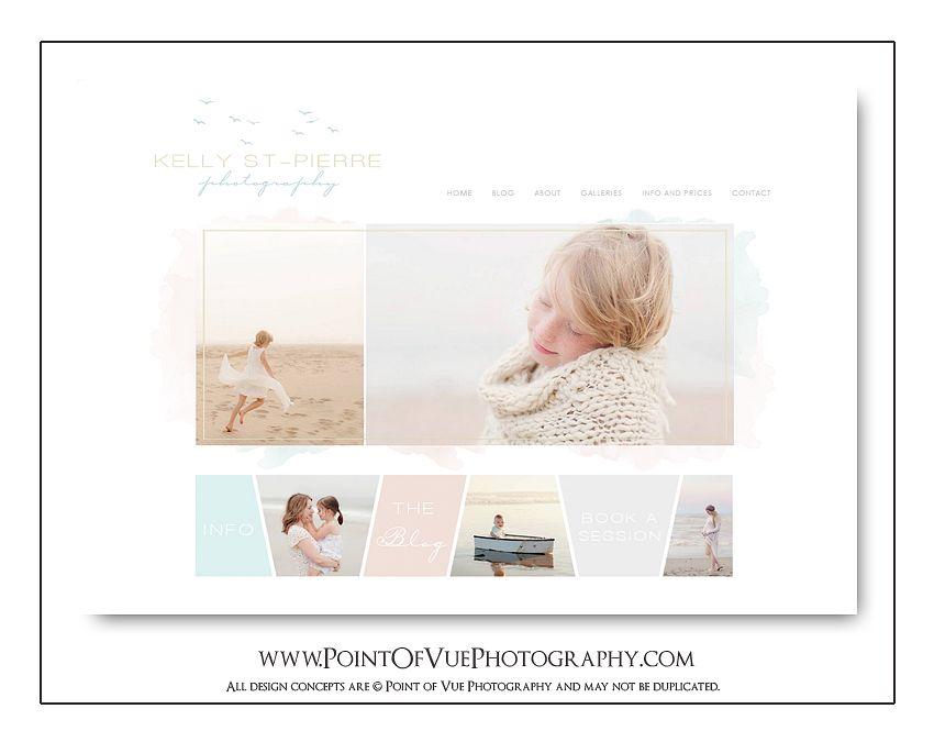 Kelly St-Pierre Photography - Custom Prophoto Blogsite Design ...