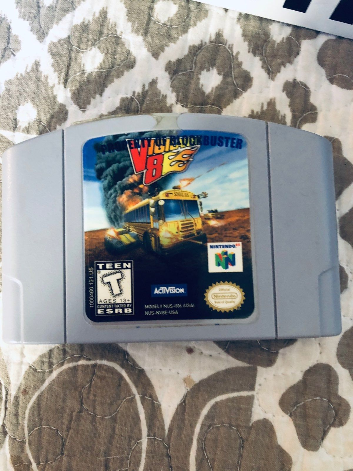 Used Works Great Perfect Original For N64 Game System Video