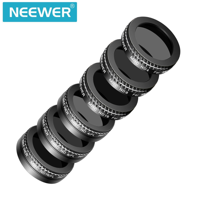 Neewer DJI Mavic Air Filter Kit 6 Pieces Lens Filter ND4