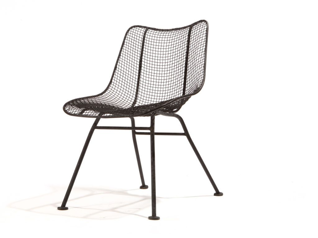 Wire Mesh Dining Chairs By Woodard
