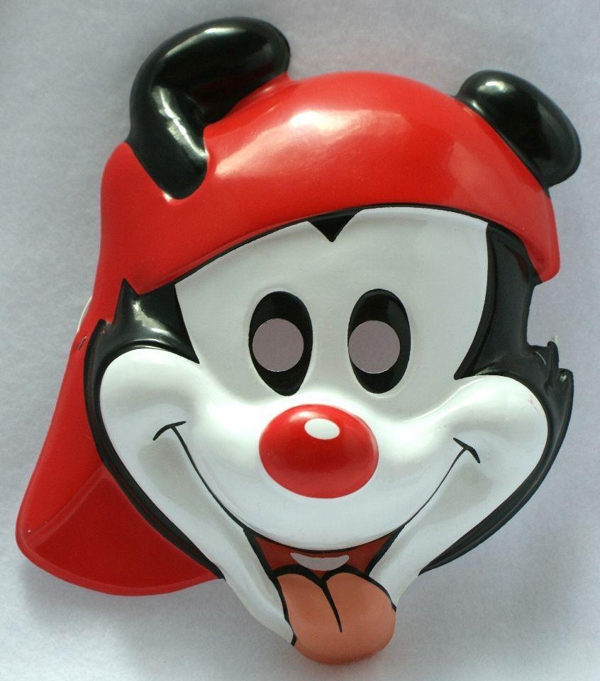 Details about Kids Size Tiny Toons Animaniacs Wakko Halloween Mask ...