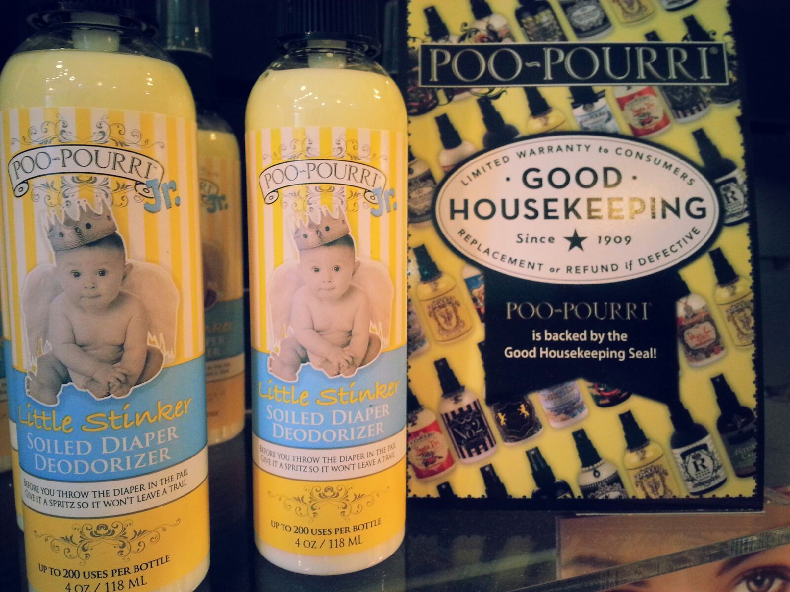A Totally Unique Beauty Boutique Carries Many Versions Of Poo Pourri It Get S The Good Housekeeping Seal Of App Beauty Boutique Good Housekeeping Housekeeping