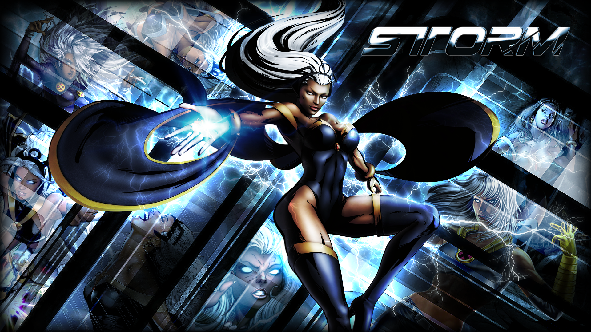 A Showcase of Electrifying Storm Artworks   Black panther, Storms ...