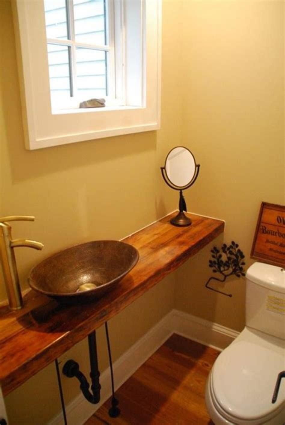 Best Color For Small Half Bathroom