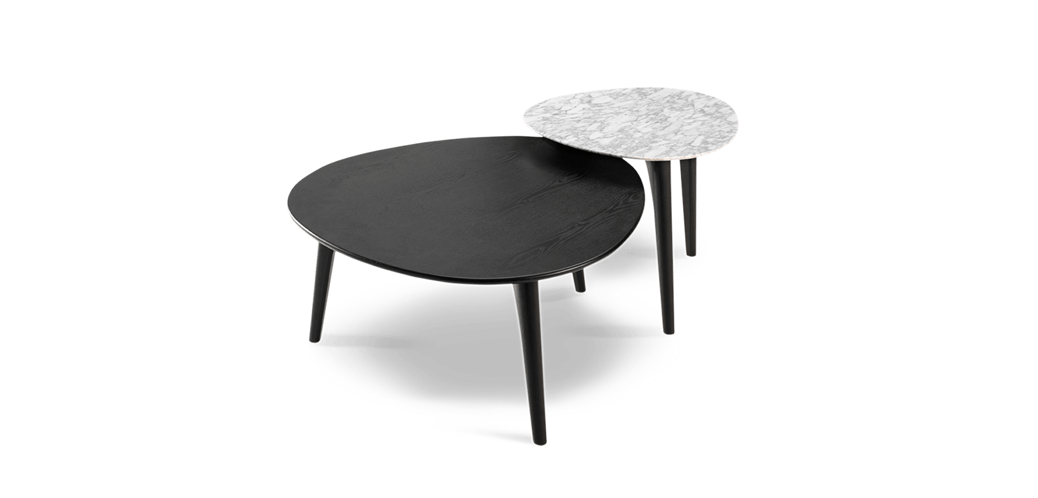 We Are Getting These Coffee Tables But The Large One Will Be The Same Colour As The Dining Table Crescent Table King Living Crescent Table Table Coffee Table [ 720 x 1500 Pixel ]