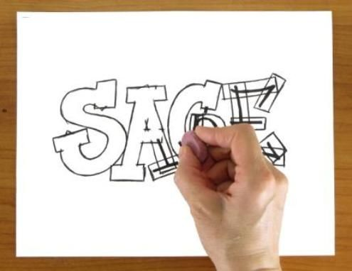 Draw A Graffiti Name With Serif Letters | Lettering and Calligraphy ...