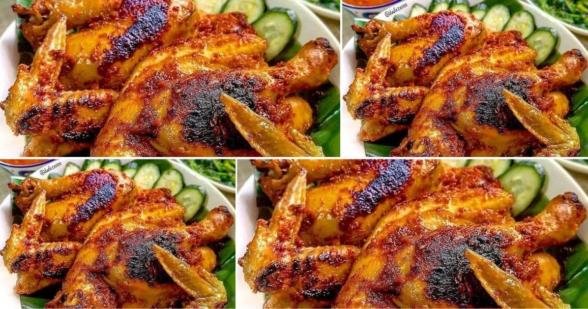 Ayam Taliwang Ini Emang Ciri Khasnya Penuh Bumbu Yah Jadi Pas Dibakar Bisa Diolesi Bumbu Banyak Banyak Ini Enak Pas Diungkep Resep Ayam Ayam Tandoori Resep