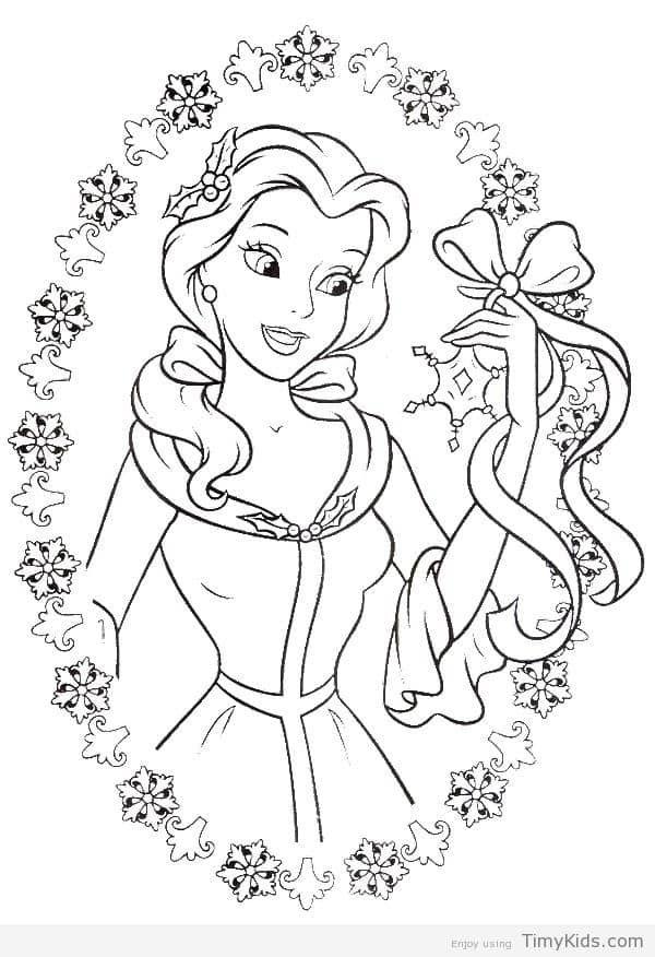 30 Princess Coloring Pages For Girls Disney Princess Coloring