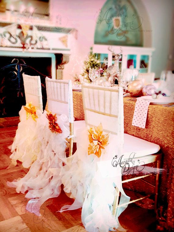 light gold bridal chair cover wedding ruffle chair decoration ready to ship willow slipcover for event wedding reception bridal shower