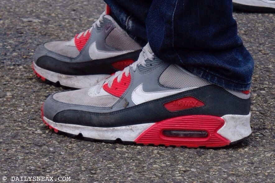 nike air max 90 id white/laser blue-atomic red sox