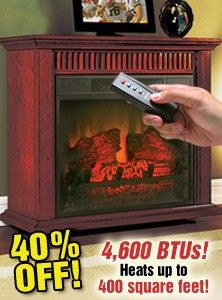 This Twin Star Electric Fireplace Is Clearly Better Than A Normal