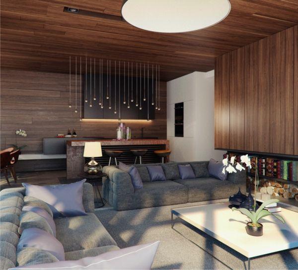 prächtig modern wohnzimmer designs leuchter tisch couch, Hause deko