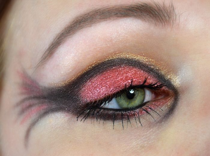 Blushes and More: Make Up Dreamz Runde 16 | VesVes inspired Make-up