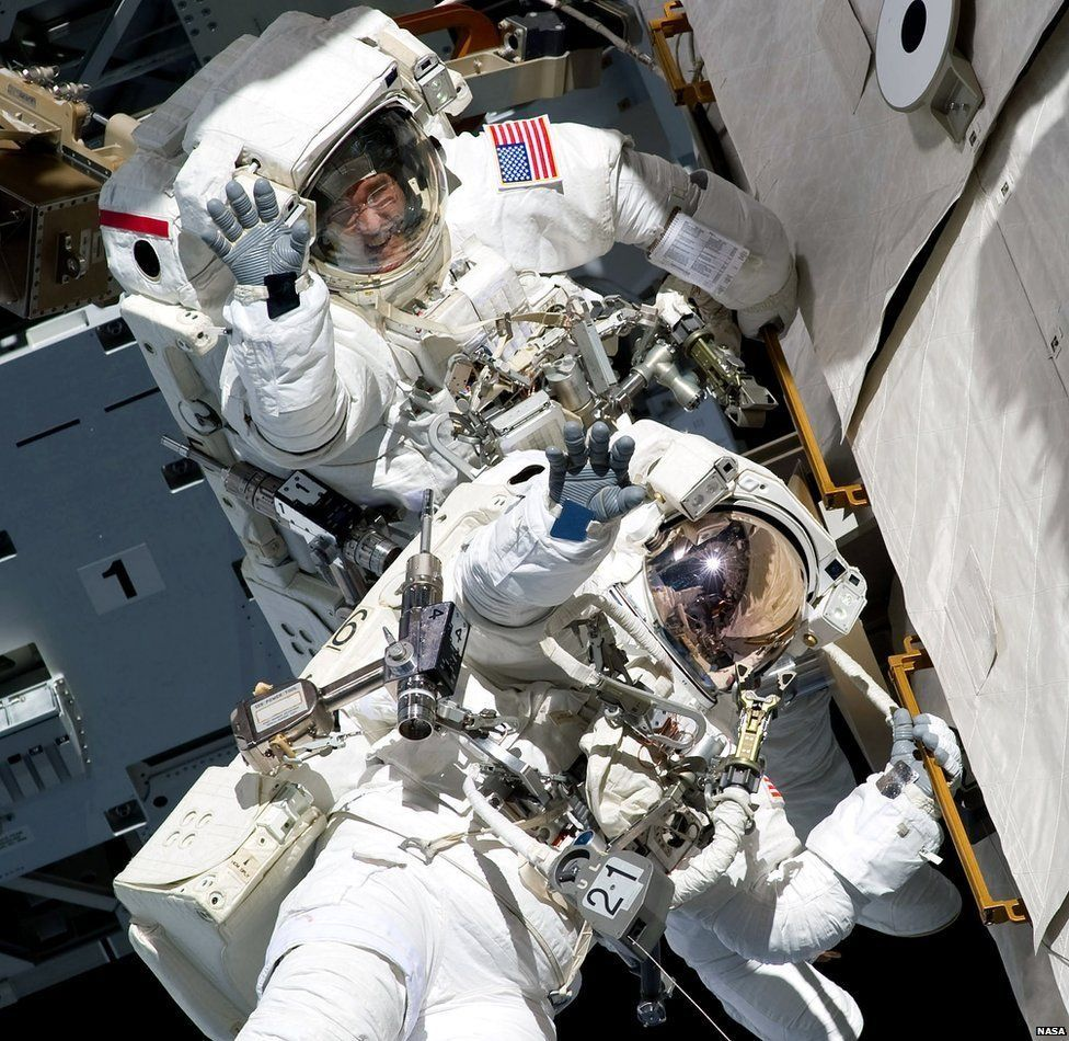 People have been on board the International Space Station