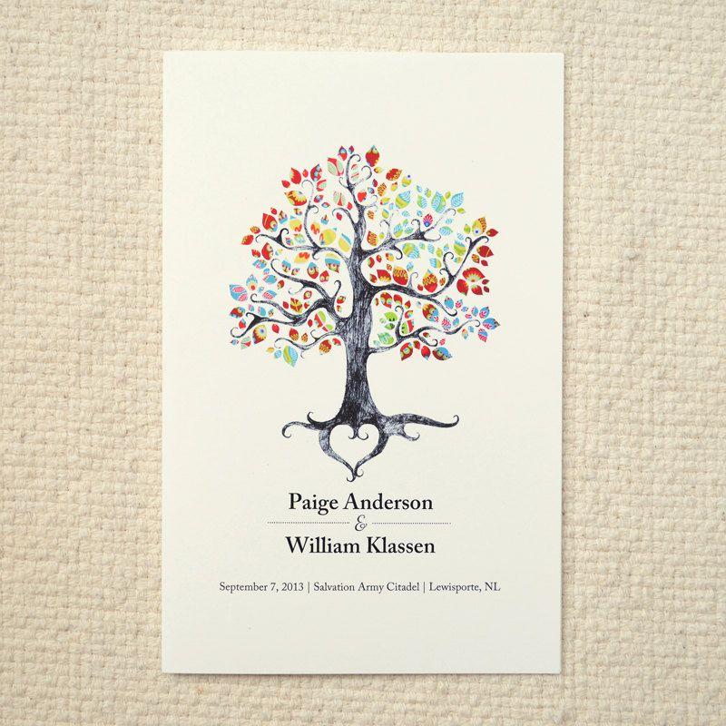 wedding tree template