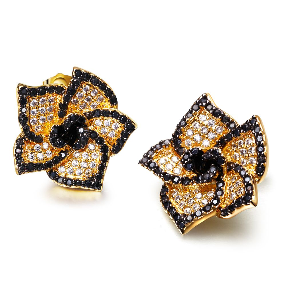 Find More Stud Earrings Information about Summer Style Flower Stud ...